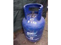 7kg gas flow butane bottle empty