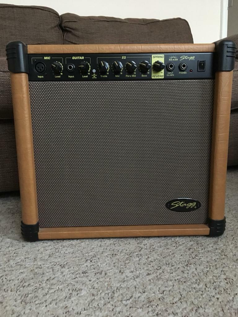 Stagg 40 amp AAR acoustic amp