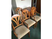 Jentique dropleaf table and 4 chairs exc cond free local deliv
