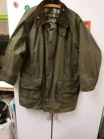 Barbour jacket size 42 game fair
