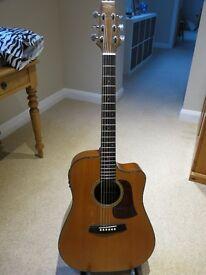 Aria SW8C electro-acoustic guitar