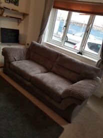 Grey 3 Seat Sofa