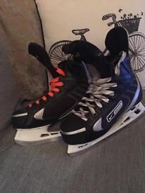 Bauer ice skates size 5