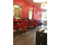 Hairdresser needed in R&V Salon Dartford, also chair for rent available in the new Salon