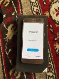 Samsung Galaxy S7 32GB Gold EE Mint Condition