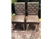 Brand new 'Next' pair of dining chairs