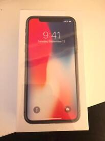 iPhone X (10) - Space Grey, 256GB - BRAND NEW IN BOX, SEALED