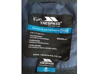 Trespass, blue coat for child, good condition