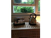 RUSSELL HOBBS KETTLE and TOASTER, in perfect condition and excellent price!