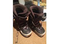Salamon snowboard boots