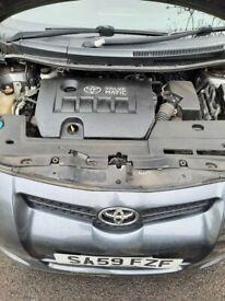 Toyota, AURIS, Hatchback, 2009, Manual, 1598 (cc), 5 doors