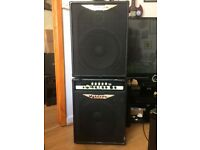 Ashdown Rootmaster MAG420 Combo and matching Ashdown Cab. £250. Cardiff