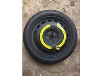 18 Inch Space Saver Spare Wheel VW AUDI SEAT SKODA