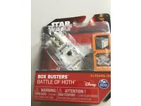Star Wars pack of 4 New mini toys great for stocking filler Star Wars lovers