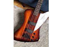 Road Worn Epiphone Thunderbird IV Bass Guitar