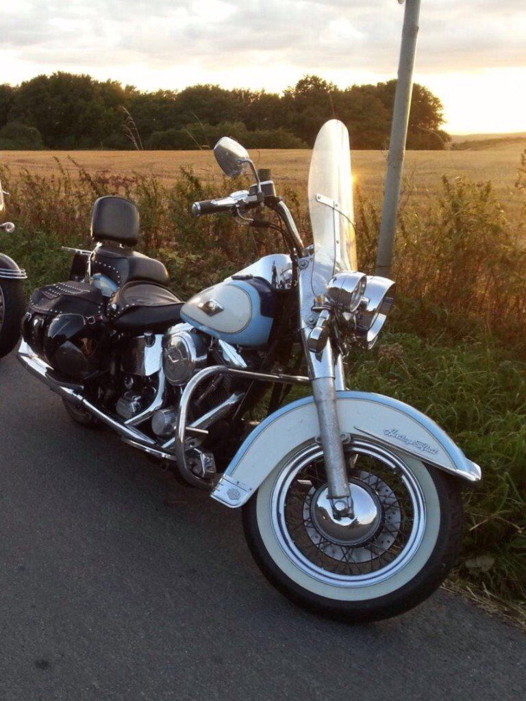 harley davidson softail heritage classic for sale in bournemouth dorset gumtree. Black Bedroom Furniture Sets. Home Design Ideas