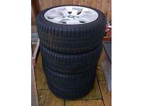 225 45 17 Winter Tyres BMW 3 series,E90,E91
