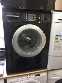 BOSCH black washing machine With Digital Board excellent condition warranty included Special offers