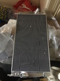 Ford Focus St upgraded radiator