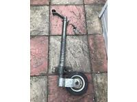 Very heavy duty trailer jockey wheel