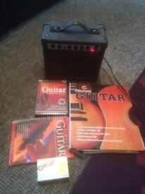 Guitar amp notation book learner dvd and book