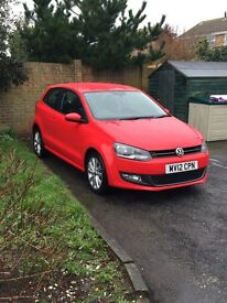 2012 VOLKSWAGEN POLO 1.4 SEL, ONLY 31455 MILES