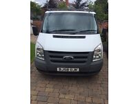 Very reliable Ford Transit van for sale, roof rack, van vault, 2 owners and dead bolts
