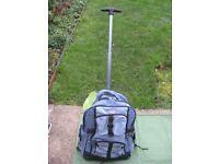 Brand New Light Blue Cap Ferrat Travel Bag with Telescopic Handle and Wheels