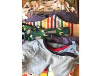 Bundles of baby clothes up to 18months