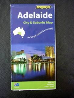 Road Maps - Adelaide (City & Suburbs) by UBD / Gregory's