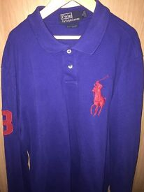 Long sleeve Ralph Lauren polo