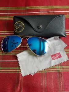 Ray-Ban Blue Aviators w/ Original Case