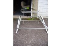Metal Frame Double Bed & Matress