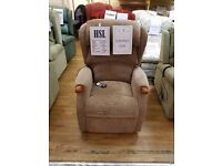 Ex-Display HSL Linton Dual Motor Riser Recliner Chair, Free Delivery