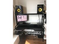IKEA FREDDE Desk - Good Condition, Near Complete: £50.00