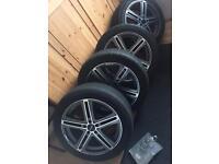 Mercedes Audi Vw alloy wheels like brand new