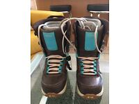 Ladies Snowboarding Boots