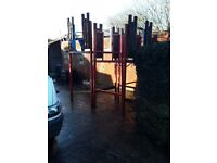 Very large chiderns play frame ex holiday park
