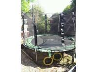 10ft plumb trampoline