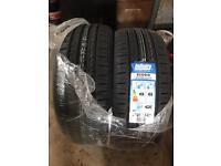 BRAND NEW 2X Infinity Ecosis 205/55/16 Tyres