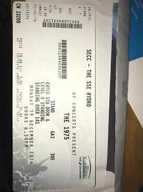 The 1975 Glasgow SSE Hydro Ticket 19th December