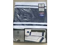 Embellished luxury panel king size duvet set.