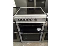 FLAVEL free standing electric ceramic cooker 60 cm width grey nice condition & fully working order