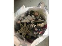 Christmas tree with all Christmas toys