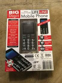 New Big Digit Mobile Phone