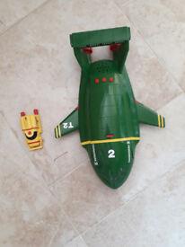 Thunderbird 2 with Thunderbird 4