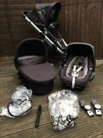 iCandy Apple Travel System with Pebble Plus