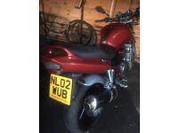 Suzuki bandit 600cc motorbike