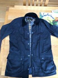 Barbour men's waxed jacket Size S