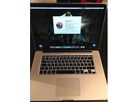 "MacBook Pro Retina 15"" 16gb/512gb/i7/NVIDIA"